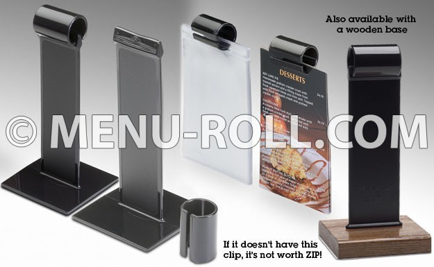 Satisfied Customers & Menu-Roll.com | The Original Menu-Roll Table Tent