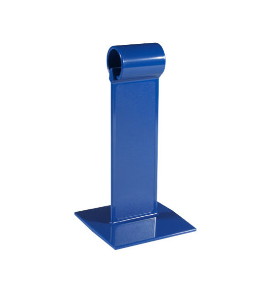Blue All Plastic Menu-Roll